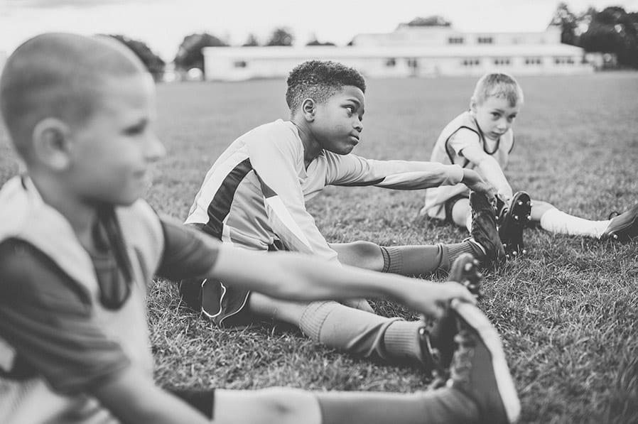 Groeispurt bij jeugdspelers